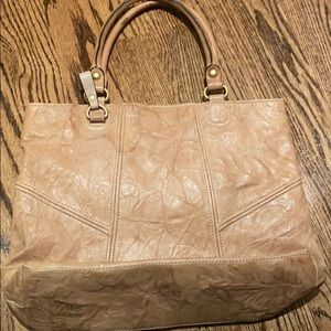 Juicy Couture Bags - Juicy Couture brown leather tote